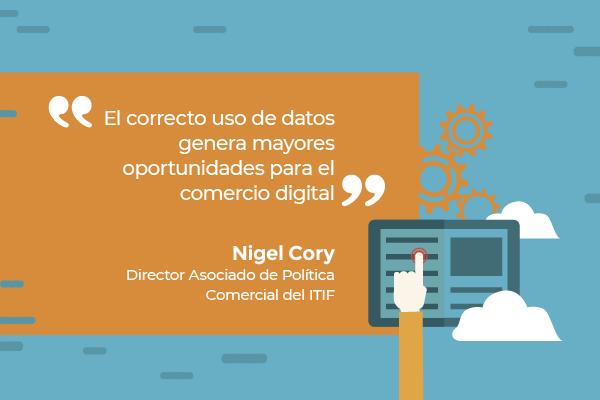"""Nigel Cory: """"El uso de los datos es crucial para impulsar la innovación y la productividad"""""""