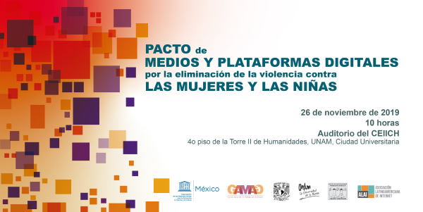 Pacto de Medios de Comunicación y Plataformas Digitales en México, para erradicar la violencia contra las mujeres y niñas