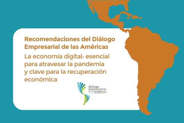 Recomendaciones del ABD: la economía digital es esencial para atravesar la pandemia y sentar las bases para la posterior recuperación