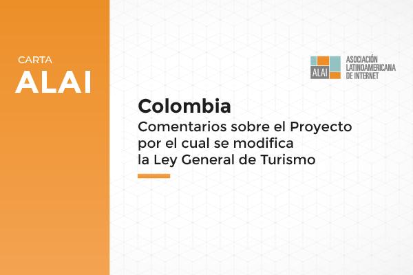 Colombia | Comentarios sobre el proyecto por el cual se modifica la Ley General de Turismo