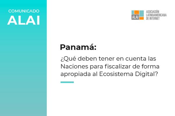 Posicionamiento de ALAI sobre impuestos digitales – Panamá