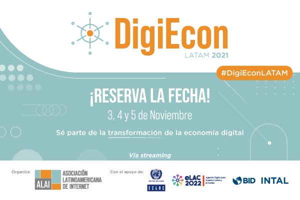 DigiEcon 2021 | Primer encuentro latinoamericano de economía digital